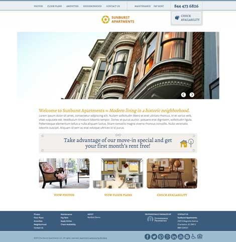 Rentbot Design Sunburst Apartments