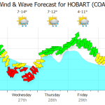 brisbane weather radar Hobart Synoptic Chart | Seabreeze