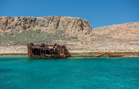 Boat Tour in Chania (Gramvousa) with Sea Breeze Cruises