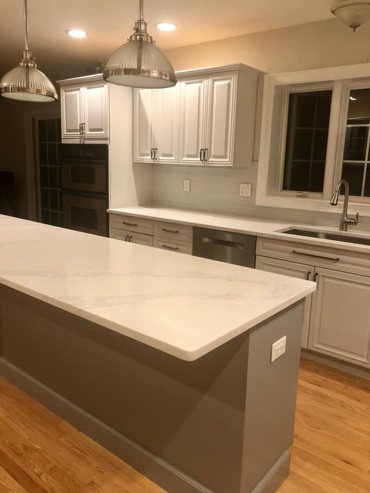 Custom Kitchen And Bathroom Countertop Installation Photo