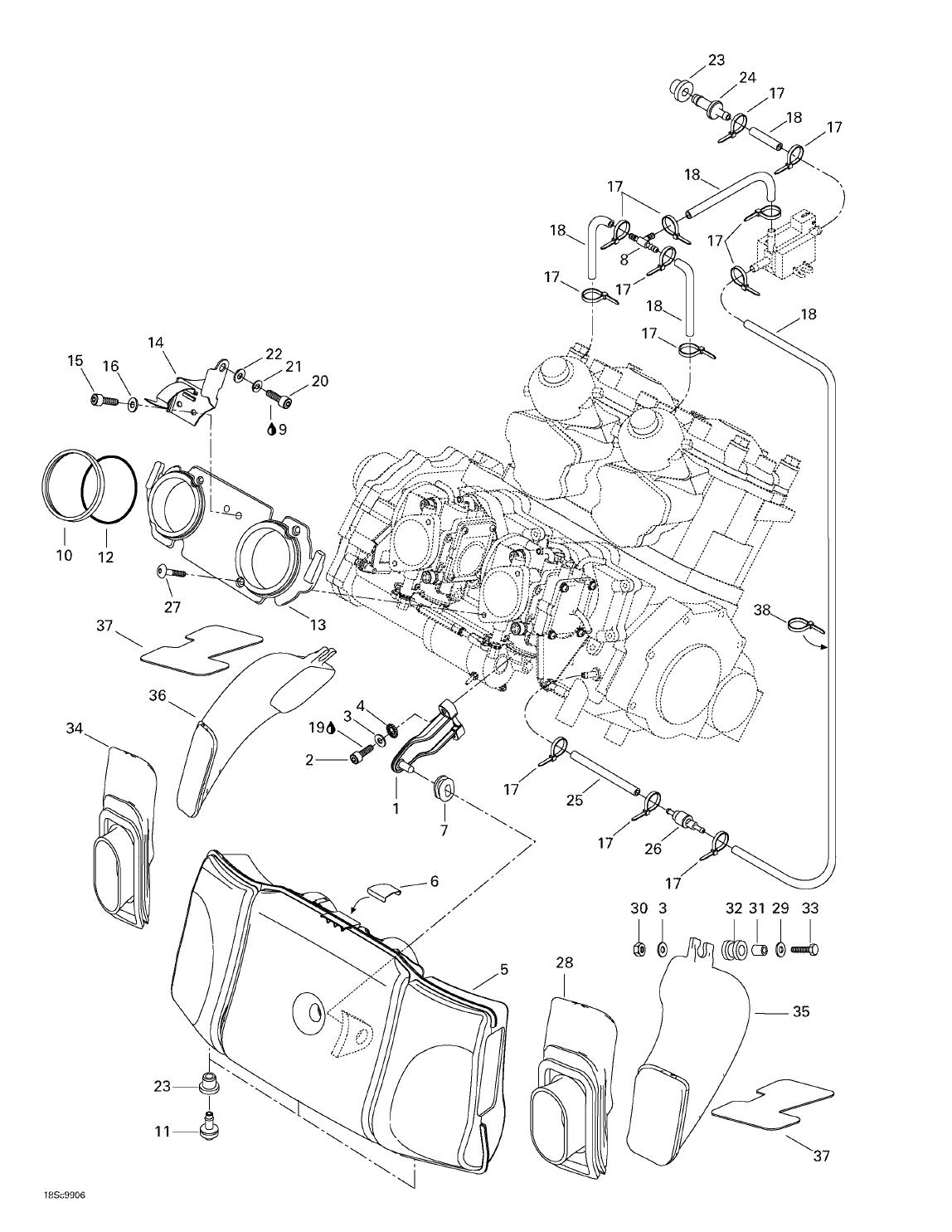 99 Seadoo Xp Engine Diagram