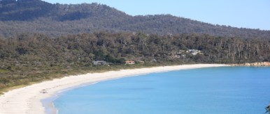 Views of Binalong Bay from the Cottage