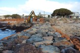 West Busselton Groyne Refurbishment with Granite Armour - 2019