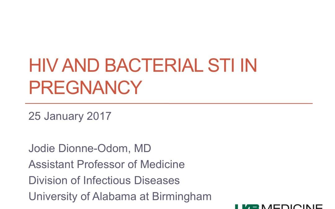 Webinar: HIV, STIs and Pregnancy