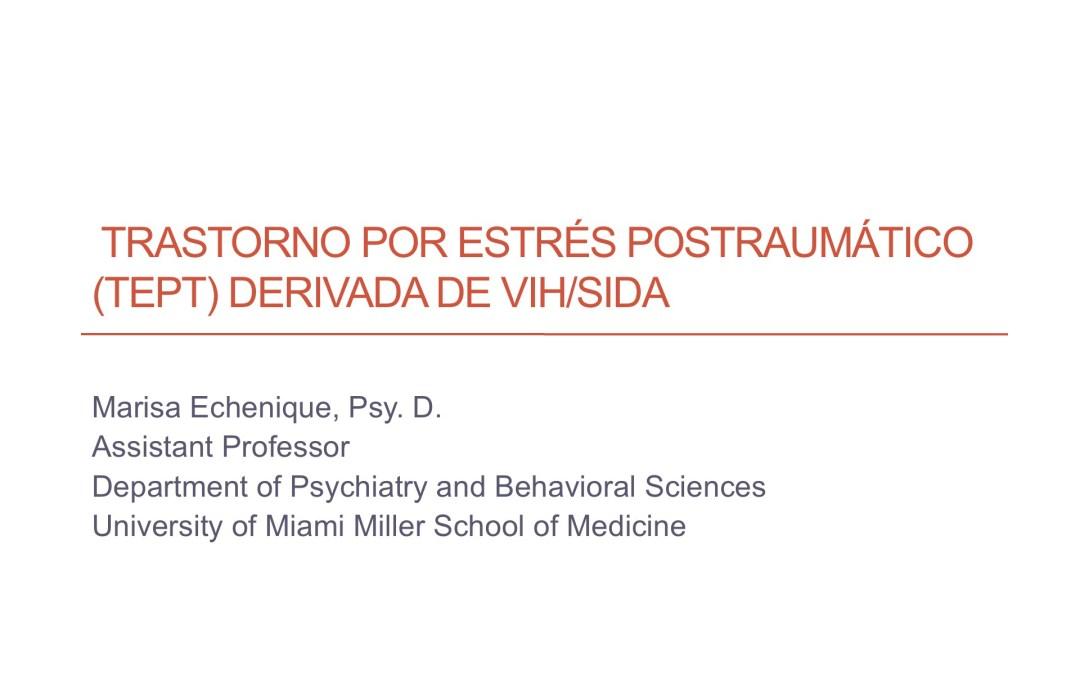 Webinar: HIV and PTSD (en Espanol)