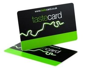 We also accept Tastecard