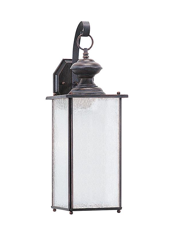 sea gull lighting 8458 965 jamestowne 1 light outdoor lantern wall sconce