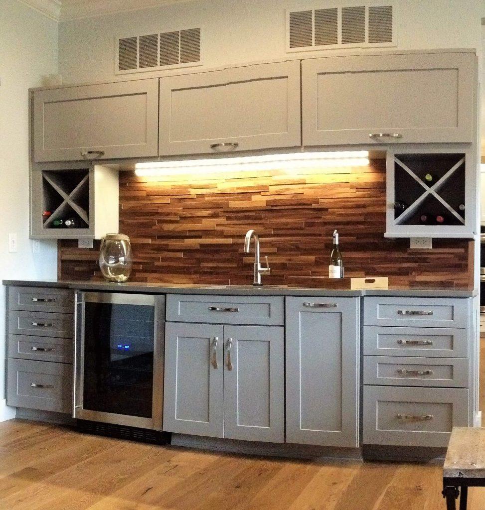 Kitchen Renovation - Bar
