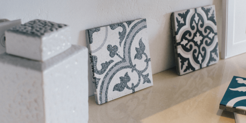 Cement tiles and accessories at SEA INTERIOR DESIGN