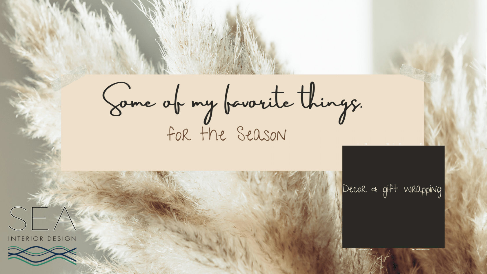 Cover for SOME OF MY FAVORITE THINGS blog post