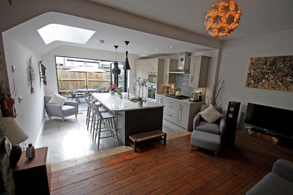 Side Extension Patio Amp Kitchen Refurbishment In Twickenham Seal Homes