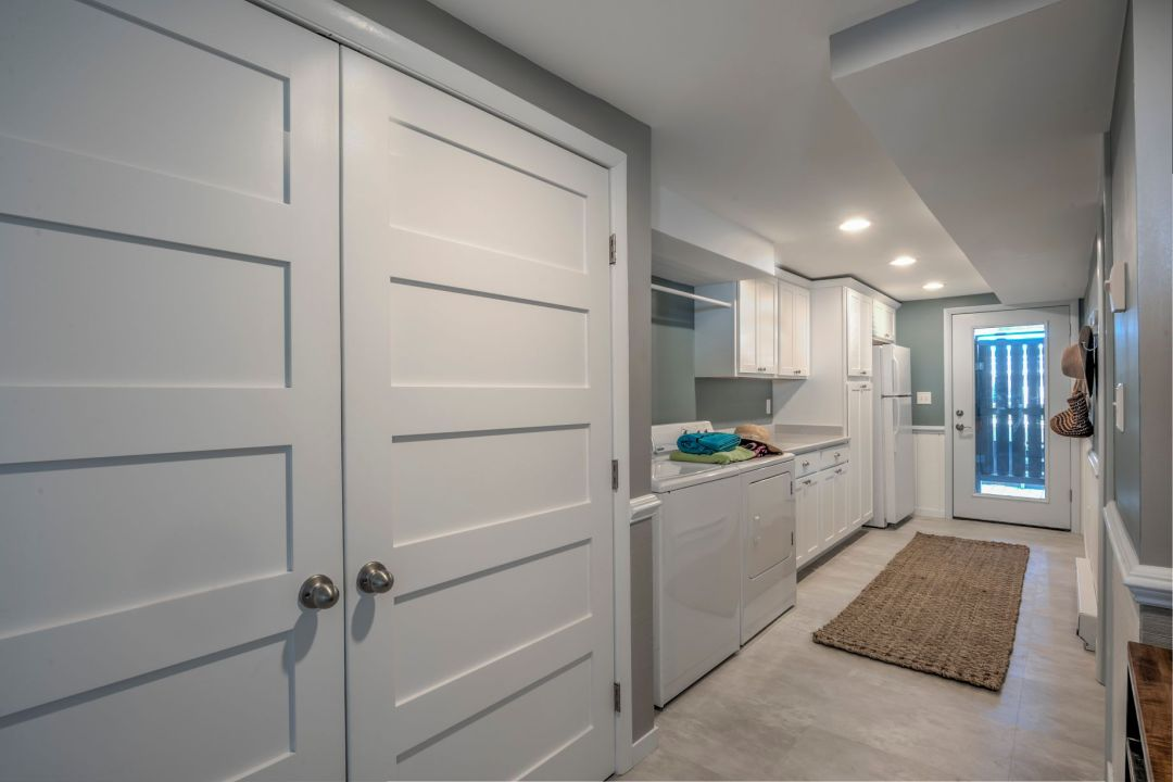 Renovation in Campbell Place, Bethany Beach DE with Custom Made Closet