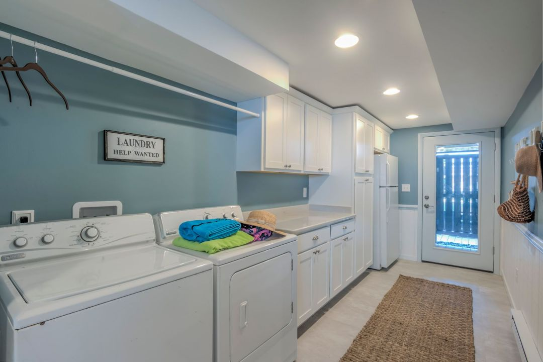 Renovation in Campbell Place, Bethany Beach DE - Laundry Area