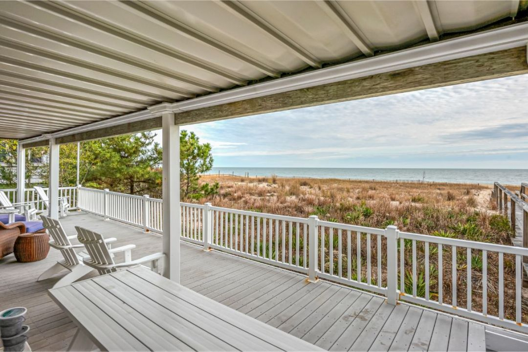 Deck with Beach View