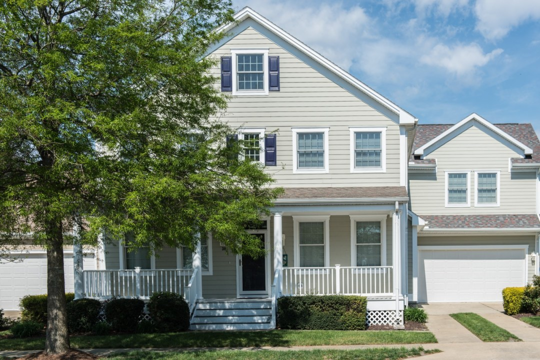 Willow Oak New Addition in Bear Trap Dunes, Ocean View DE Exterior with Siding, Shingles Roofing and Porch