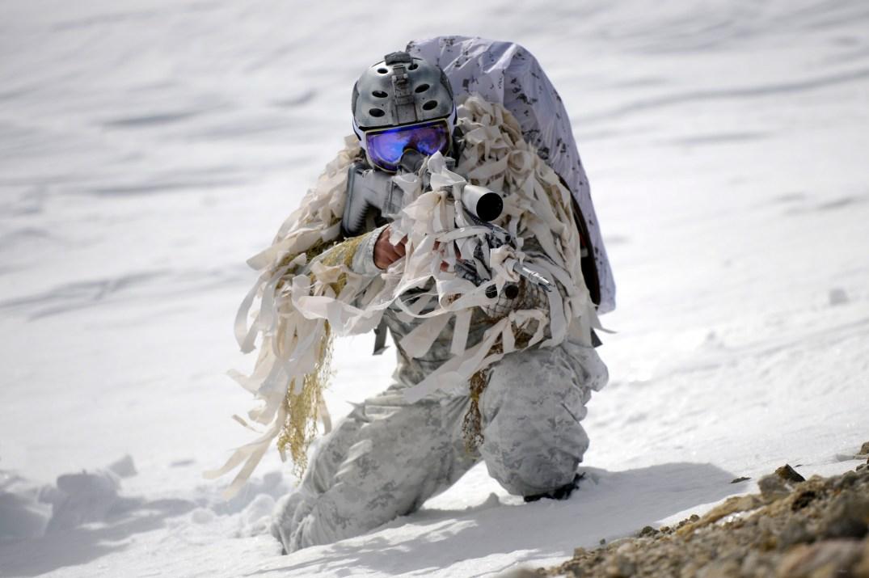 Navy SEAL snow