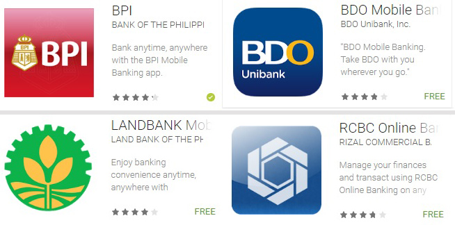 Mobile Banking services in the Philippines