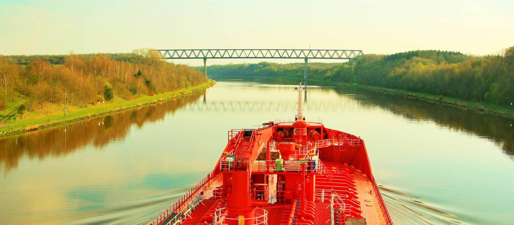 Seaman Memories. Channeling at Kiel Canal.