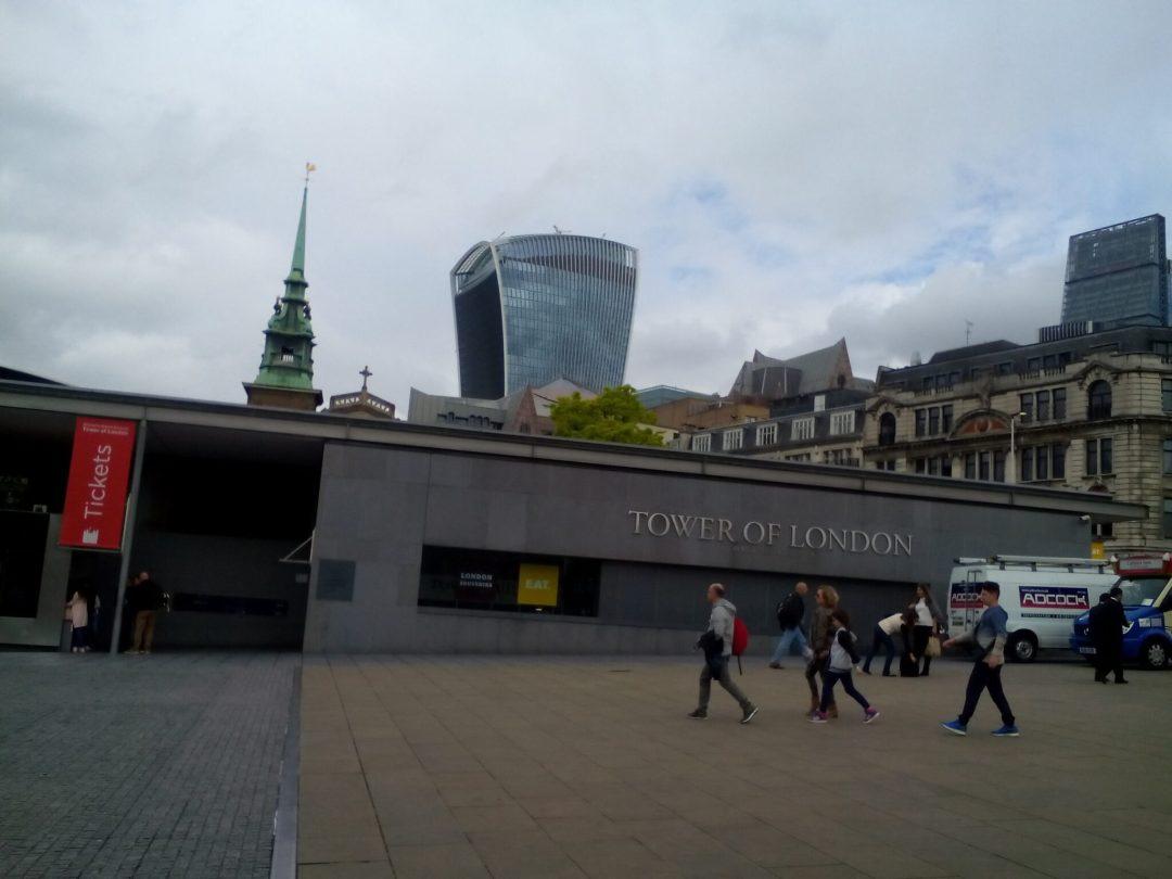 Weird-looking Walkie Talkie Building