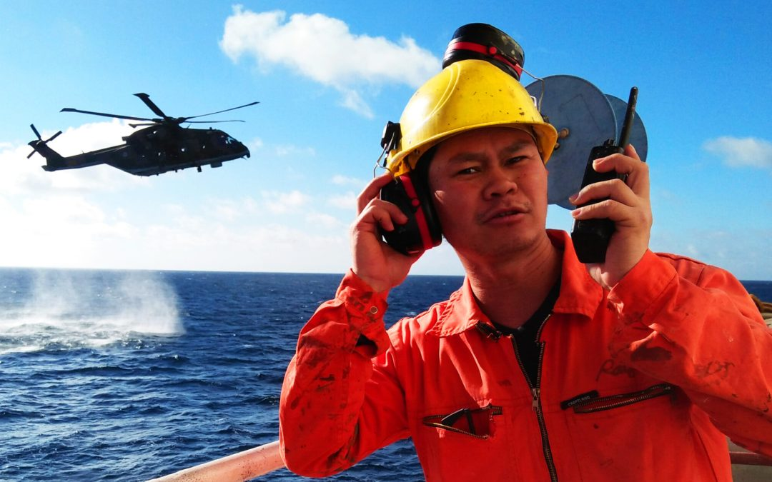 Maritime Search and Rescue Exercise with Ships: One of the Best Experience of a Seaman