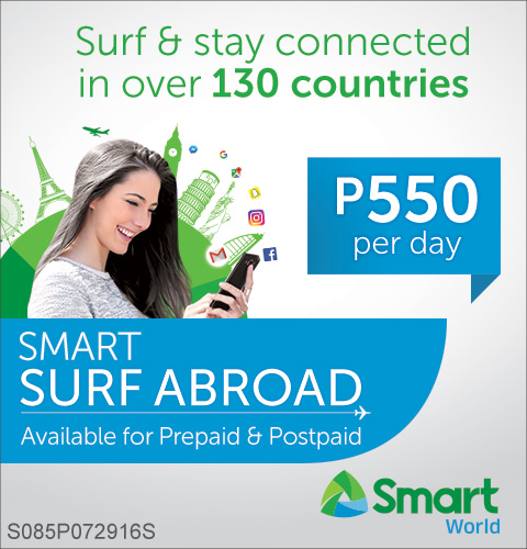 Smart Surf Abroad for P550.