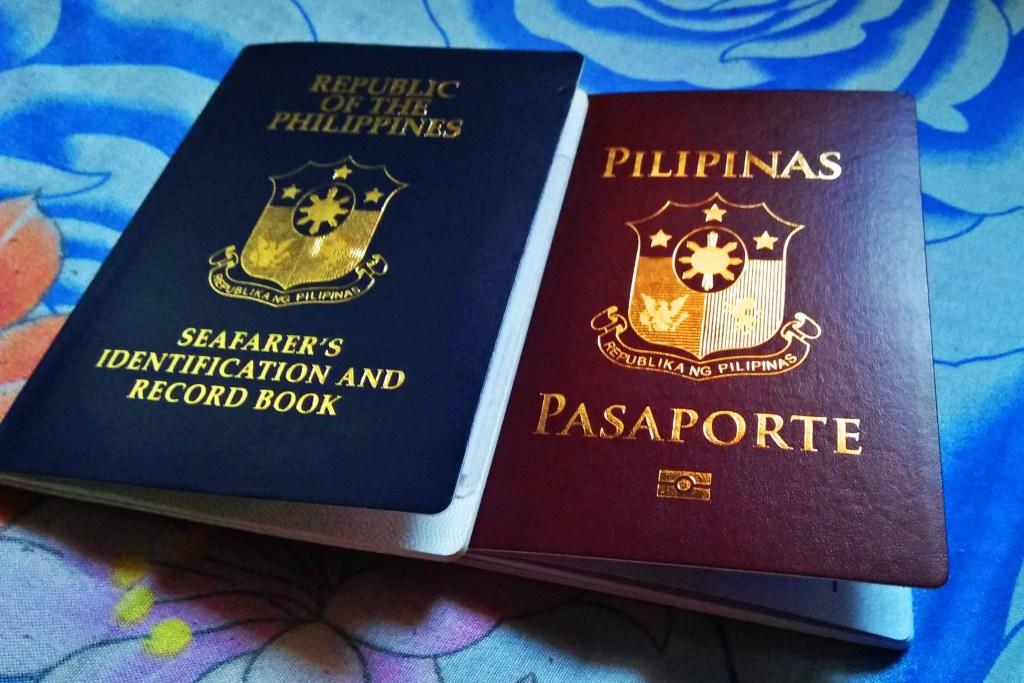 Passport and Seaman's Book