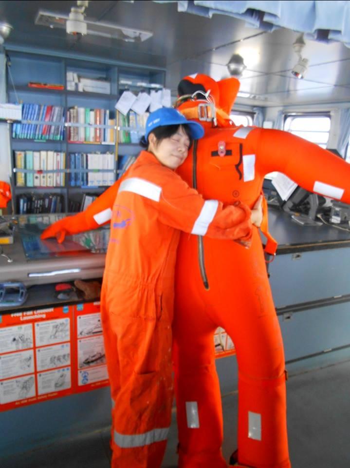 Immersion suit maintenance: the proper way.