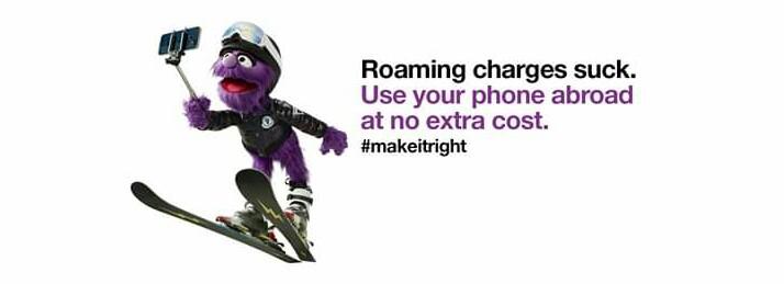 Three UK roaming internet