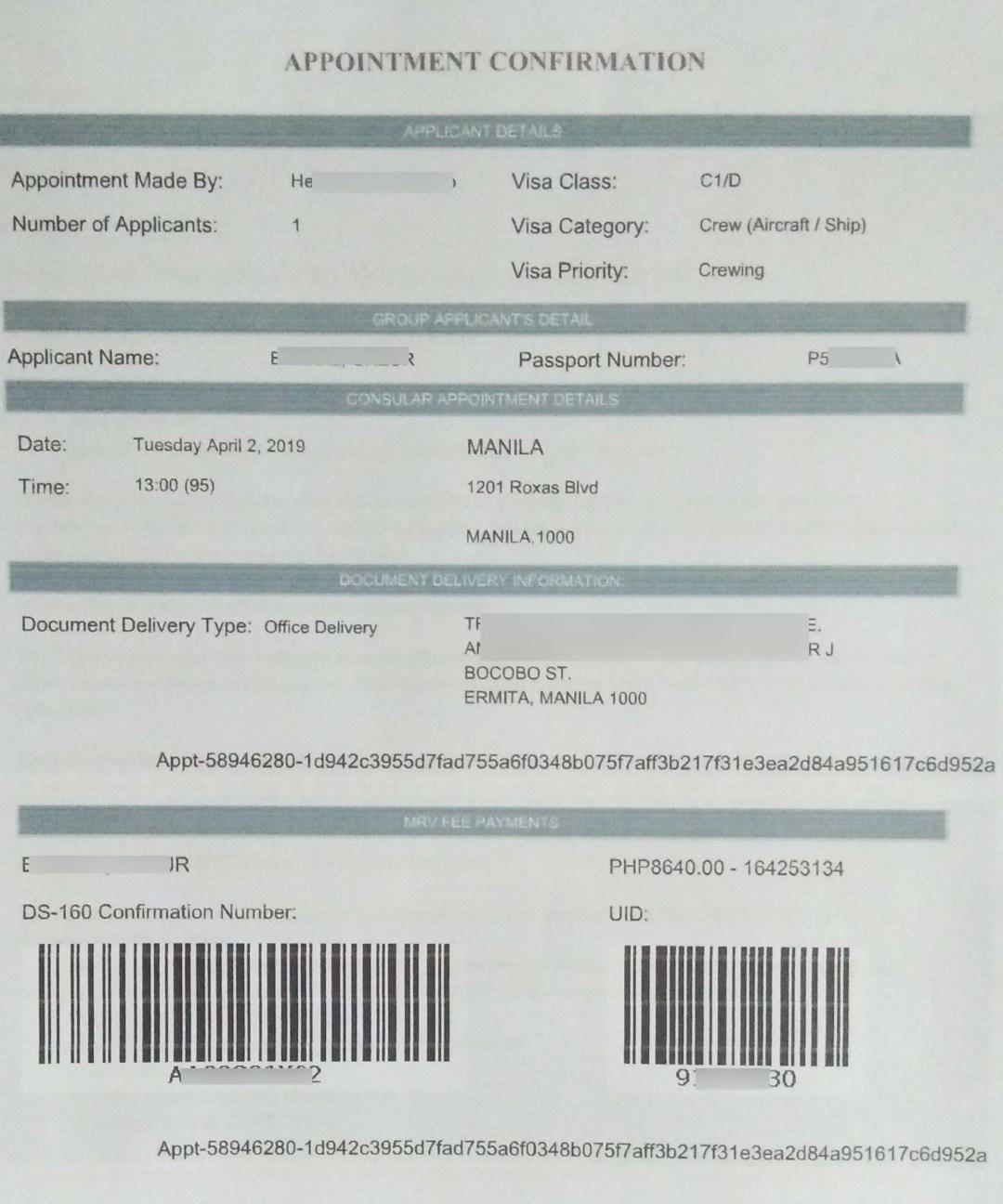 Us Visa For Seafarers Application And Renewal Guide