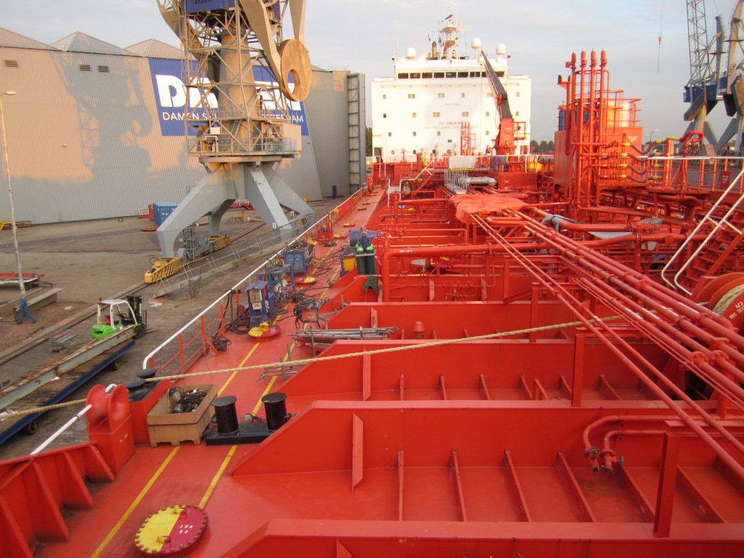 Vessel in Shipyard. Ship's crew performing extra-ordinary jobs could get shipyard or dry dock bonus. Its one of the legitimate of extra income opportunities on board.