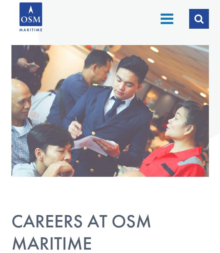 Careers at OSM Maritime