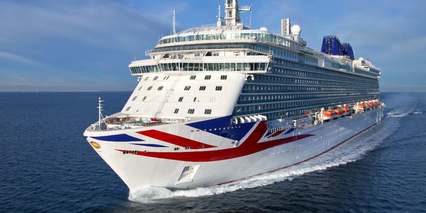 P&O Britannia. One of the Cruise ships Career Ship Management is affiliated with