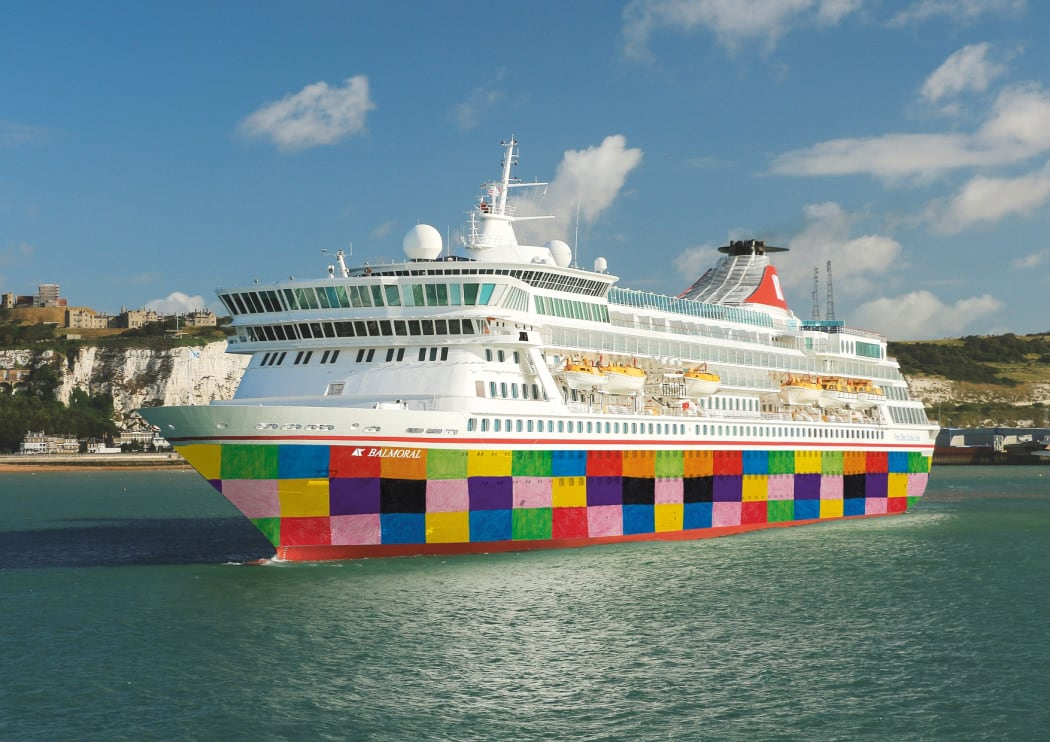 Balmoral Cruise Ship owned by Fred Olsen Cruise. Hiring Partner in the Philippines is Bahia Shipping Services, Inc.