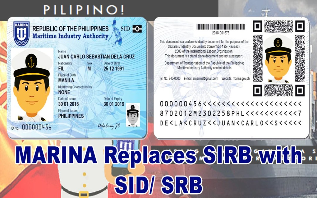 MARINA Replaces SIRB with SID/ SRB