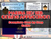 MARINA SID/ SRB (Seaman's Book ) Online Application: Complete Guide