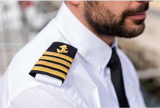 The Captain is the highest ranking officer on board