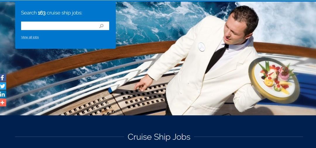 All Cruise Job Homepage