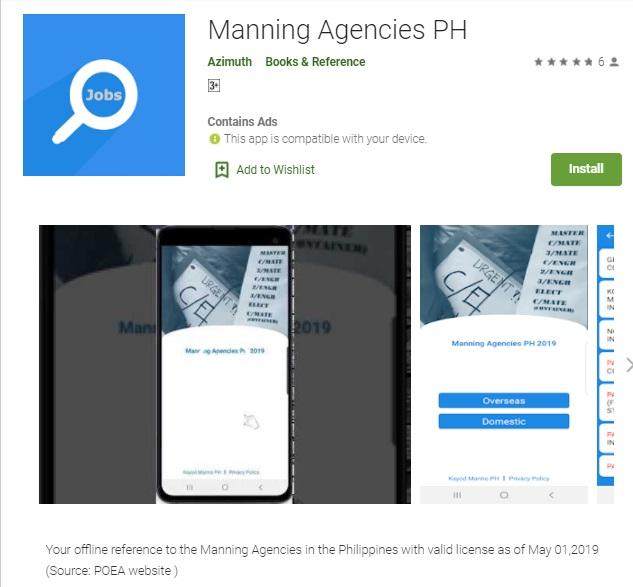 Manning Agencies PH
