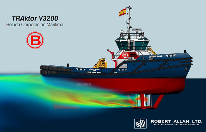 Tugboats fitted with Voith Schneider Propeller