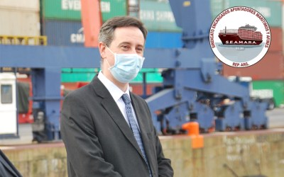 Nuevo interventor de la Administración General de Puertos