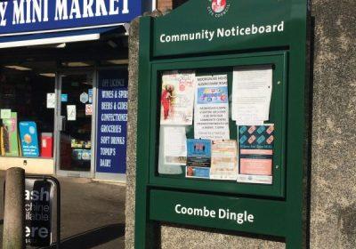 New community noticeboards