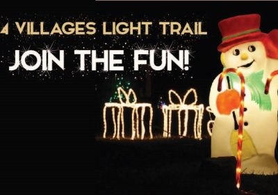 4 Villages Light Trail – Get out and get active this winter!