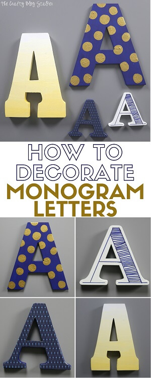How-to-decorate-monogram-letters