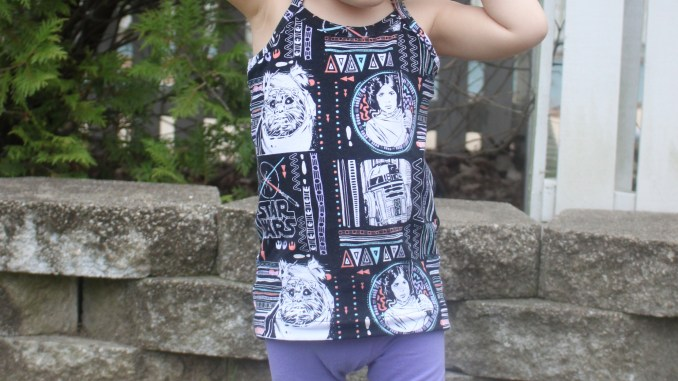 Girls Cami Pattern