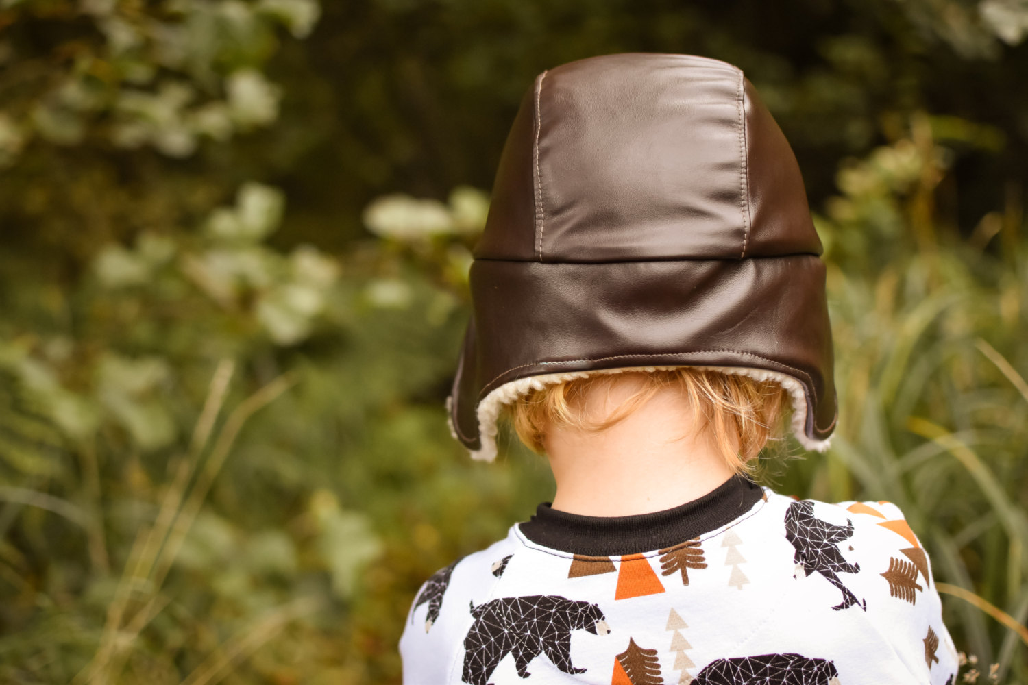 Aviator Hat Halloween Sewing Pattern by Made By Jack's Mom