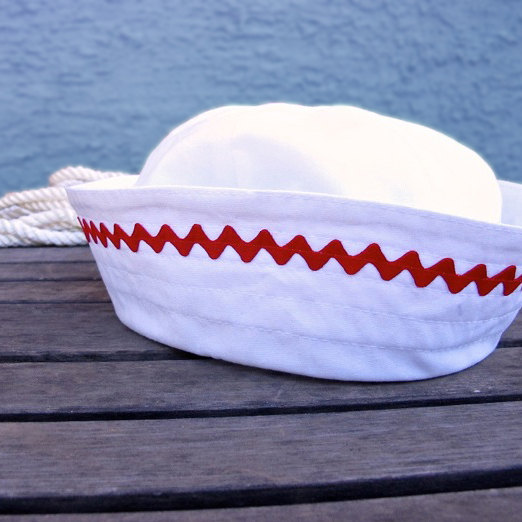 Sailor Hat Halloween Sewing Pattern