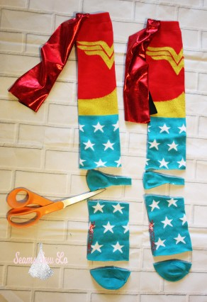 how to make baby leg warmers cut off toes