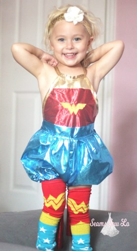 wonder woman costume for toddlers diy