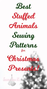 best stuffed animals Sewing Patterns for Christmas Presents