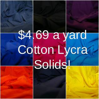 cotton lycra fabric sale simply by ti
